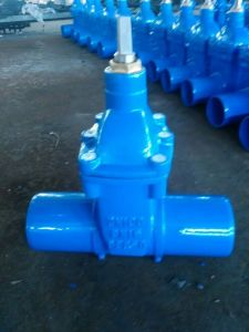 Resilient Seated Gate Valve Smooth End for PVC