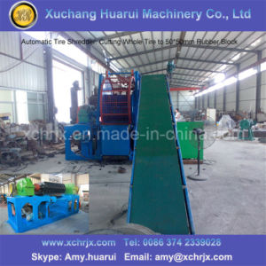 Scrap Tyre Recycling Plant/Waste Tyre Recycling Production Line pictures & photos