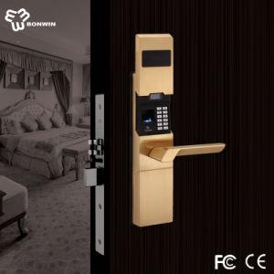 Bonwin Latch Bolt Fingerprint Lock for Star Hotel pictures & photos