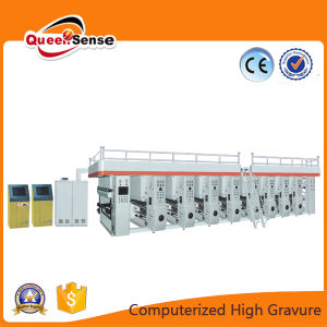 Automatic Color Register Computer Gravure Plastic Printing Machine pictures & photos
