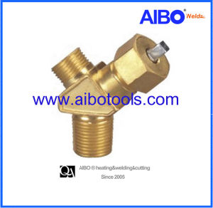 Needle Type Valve for C2h2 Cylinder-Cga200 pictures & photos