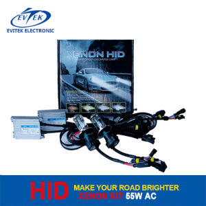 Perfect HID Xenon Kit 55W AC with Slim Ballasts for Car Headlight pictures & photos
