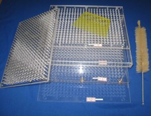 100 Holes Manual Capsule Filling Machine / Capsule Filler for Capsule Size 00# to 4# pictures & photos