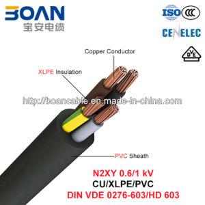 N2xy, Power Cable, 0.6/1 Kv, Cu/XLPE/PVC (VDE 0276-603/HD 603) pictures & photos