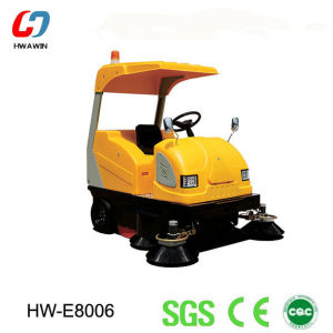Small and Cheap Road Sweeper Machine (HW-E8006) pictures & photos