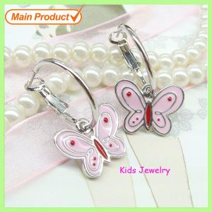 Whoesale Fashion Alloy Enamel Butterfly Earrings/ Dangle Earrings pictures & photos