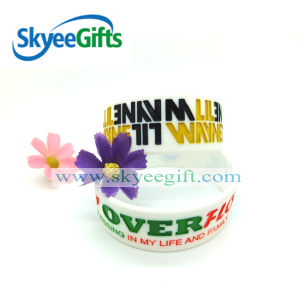 Rainbow Silicone Wristband Custom Wristband Cheap pictures & photos