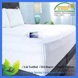 Waterproof Fits All Queen Depths Breathable Mattress Cover pictures & photos
