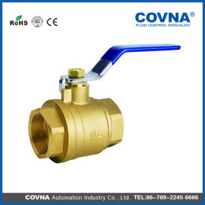 "3/4"" Manual Brass Ball Valve pictures & photos"