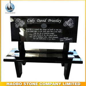 American Style Granite Bench Memorials Headstone for Cemetery pictures & photos