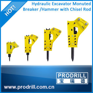 Box Silent Type Hydraulic Breaker for 4~7ton Excavator pictures & photos