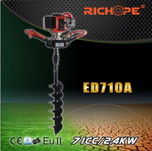 High Quality Double Handle Earth Drill (ED710A) pictures & photos