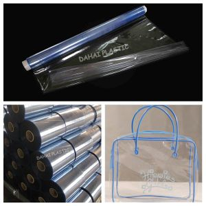 PVC Normal Clear Sheet in Rolls for Bags pictures & photos