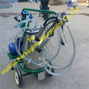 Single Cow Bucket Portable Milking Machine with Dry Pump pictures & photos