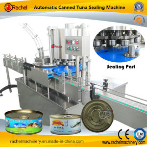 Automatic Meat Canned Food Sealing Machine pictures & photos