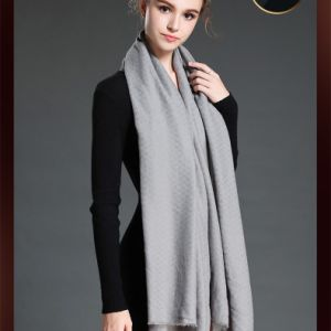 Newest Style Women Big Scarf with Colour Grey pictures & photos