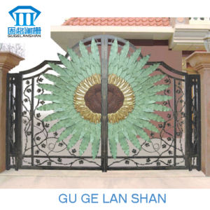 High Quality Crafted Wrought Iron Gate 011 pictures & photos