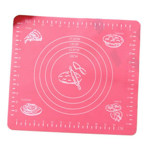 Silicone Insulation Pad Oven Pad Baking Mats with Printing Scale pictures & photos