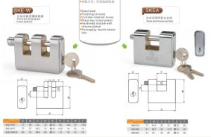stainless Steel Shell Brass or Iron Padlock pictures & photos