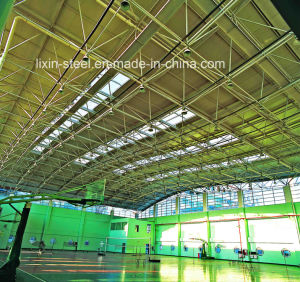Steel Light Truss Roof Frame for Badminton Building pictures & photos