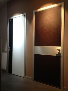 Modern Swing Door, Solid Wood Door, Melamine Flush Door pictures & photos
