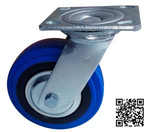 Heavy Duty Elastic TPR Swivel Caster pictures & photos