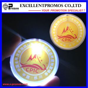 Supply Logo Printed Flashing Light Badge (EP-B7027) pictures & photos