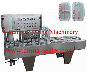 New Style Noodle Bowl Sealing Machine pictures & photos
