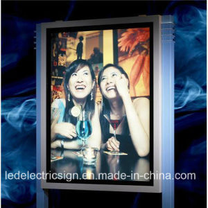 UL Power Adaptor Wall Mounted Sign Board with LED Picture Light pictures & photos