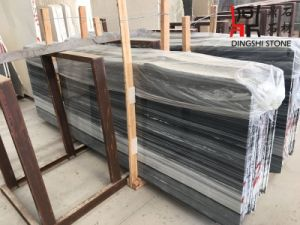 New Popular Color Grey-Blue Marble Slab Blue Wooden Vein for Flooring Tiles pictures & photos