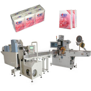 Paper Making Machine with Pocket Tissue Automatic Counting pictures & photos