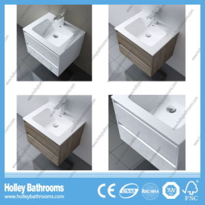 European Style MDF Deluxe Modern Bathroom Accessories with Two Side Vanities (BF117N) pictures & photos