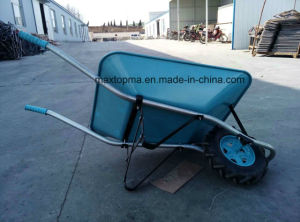 China Special Design Heavy Duty Construction Wheelbarrow for Middle East Market (WB6400A) pictures & photos