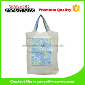 Full Printing Non Woven Foldable Shopping Bag with Strap pictures & photos