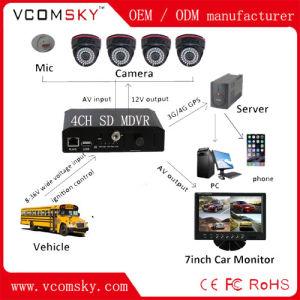 4channels D1 Mini SD Card 3G + WiFi+GPS+G-Force School Bus Mobile DVR pictures & photos