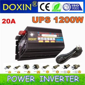 1200W Modified Sine Wave 12V/24V/48V Solar DC to AC Power Inverter pictures & photos