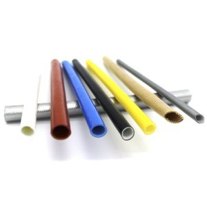 Silicone Fiberglass Sleeving for Moto or Transformer pictures & photos