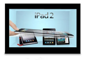 46inch Transparent Touch LCD Screen for Advertising pictures & photos
