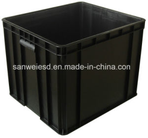 3W-9805328 Circulation Box Conductive Box ESD Box Anti-Static Box Cover Divider Available pictures & photos