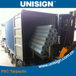 Heavy Weight Vinyl Coated Polyester Tarpaulin pictures & photos