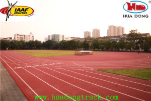 No Smell Hdpd Prefabricated Rubber Running Track pictures & photos