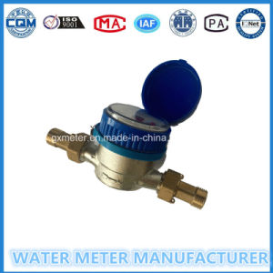 """1/2""-""3/4"" Dry Dial Single-Jet Type Brass Water Meter pictures & photos"