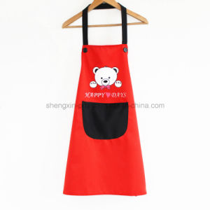 100% Cotton Kitchen Apron with Logo Printing pictures & photos
