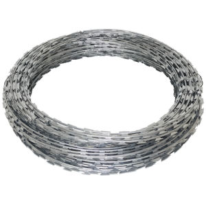 Galvanised Barbed Razor Wire Steel Security Fencing Farm Concertina Barb pictures & photos