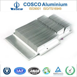 Customized Aluminum Extrusion for Skived Fin Heatsink for Various Industries pictures & photos