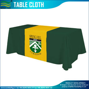 Durable Full Color Advertisement 3D Tablecloth (M-NF18F05021) pictures & photos
