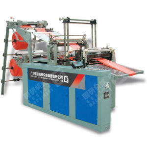 Gy Four Function Hand Nylon Plastic Bag Making Machine Price pictures & photos