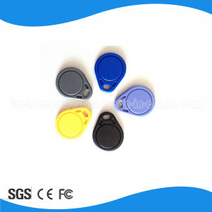 Access Control RFID 13.56MHz Key Tag pictures & photos