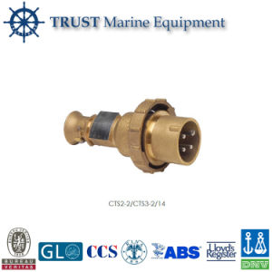 Marine Brass High-Current Watertight Plug pictures & photos