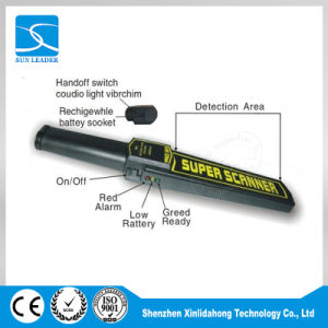 Super-Sensitive Handheld Metal Detector  (GP-3003B1) pictures & photos